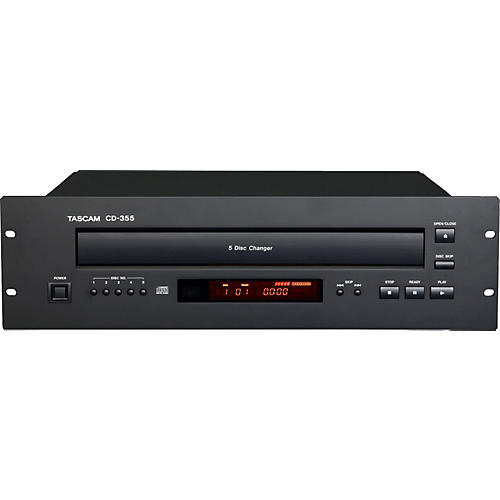 Tascam CD-355 Five-disc Carousel CD Player