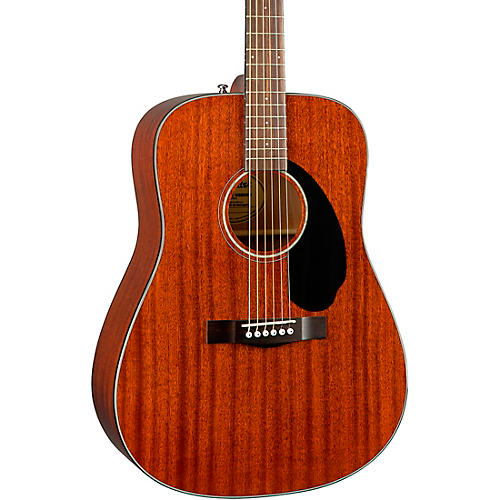 Fender CD-60S All-Mahogany Acoustic Guitar Natural