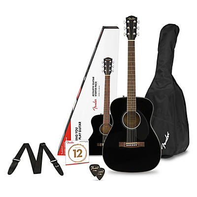 Fender CD-60S Concert Acoustic Guitar Pack