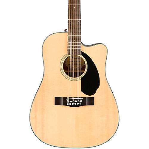 fender cd 60sce dreadnought 12 string acoustic electric guitar natural musician 39 s friend. Black Bedroom Furniture Sets. Home Design Ideas