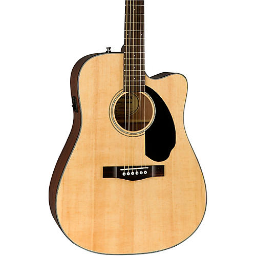 Fender CD-60SCE Dreadnought Acoustic-Electric Guitar Natural