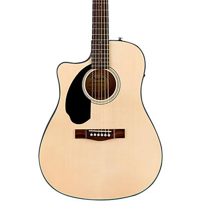 Fender CD-60SCE Dreadnought Left-Handed Acoustic-Electric Guitar