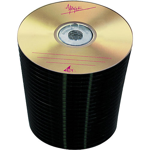 Apogee CD-74 CDR Gold Over Gold 100-Disc Spindle
