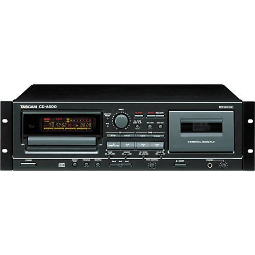 Tascam CD-A500 Rackmount CD/Cassette Player