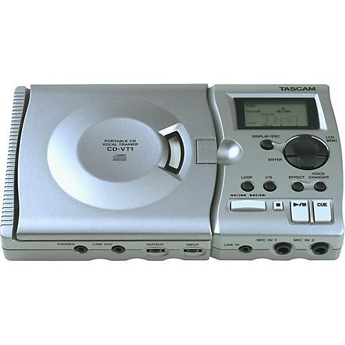 Tascam CD-VT1 Portable CD Vocal Trainer