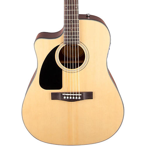 Fender CD100 CE Left-Handed Cutaway Acoustic-Electric Guitar