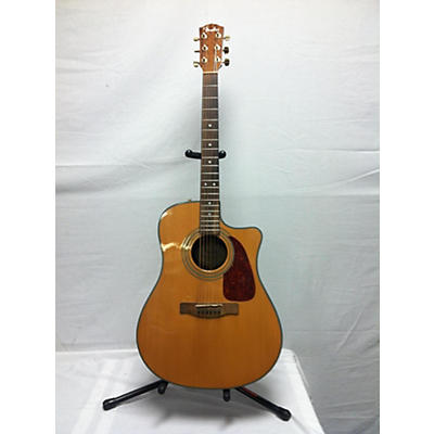 Fender CD220SCE Exotic Ovangkol Acoustic Electric Guitar