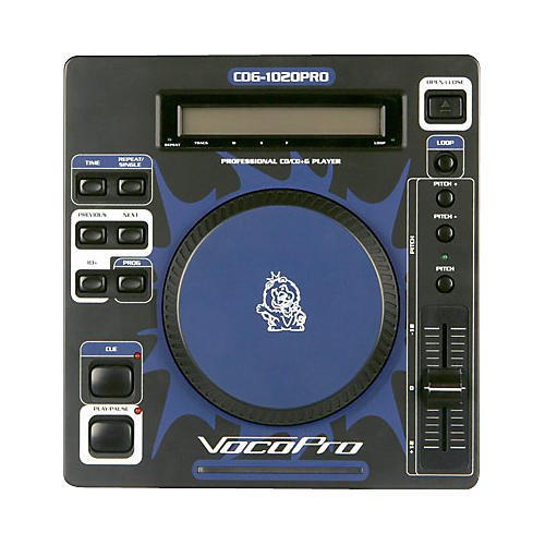 VocoPro CDG-1020 PRO Hybrid CD & CDG Player
