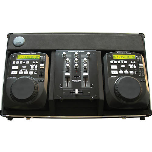 American Audio CDI-100 MP3 System with 2 MP3 Players and a Mixer