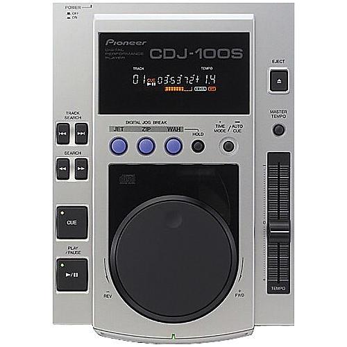 pioneer cdj 100s professional cd player musician 39 s friend. Black Bedroom Furniture Sets. Home Design Ideas