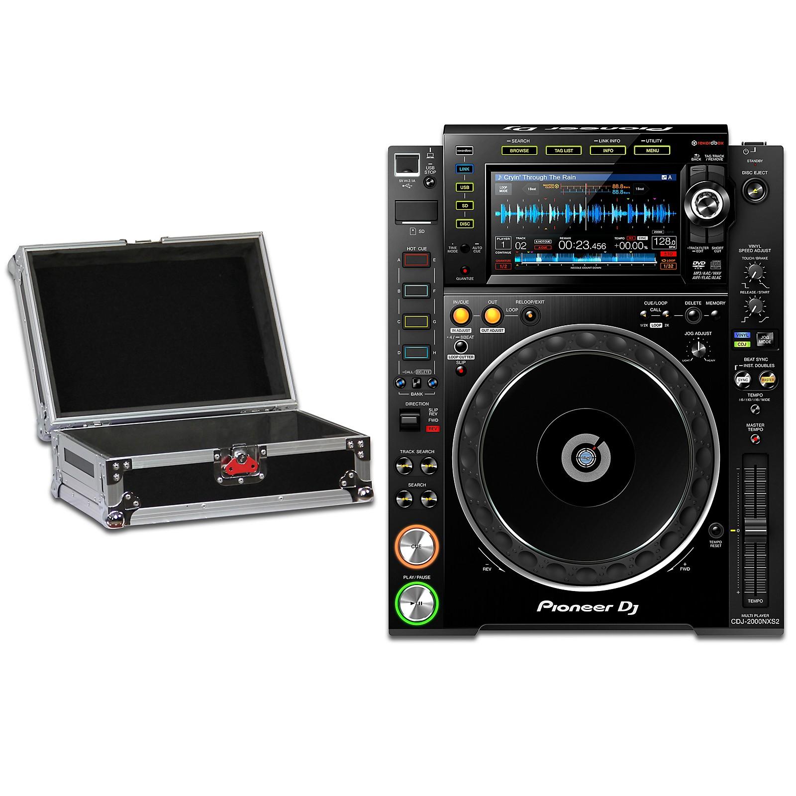 Pioneer CDJ-2000NXS2 Professional DJ Media Player with Case