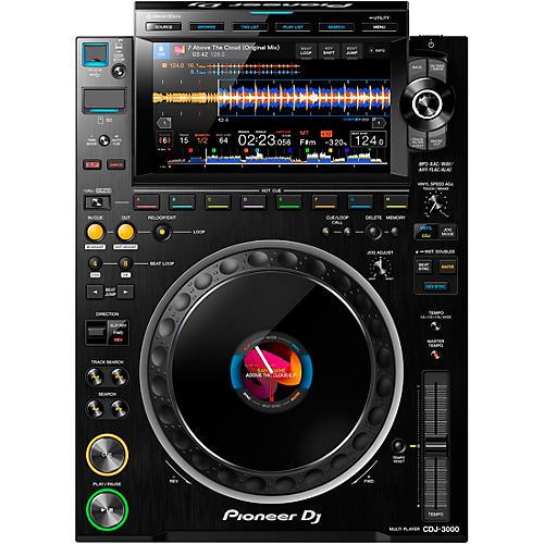 Pioneer CDJ-3000 Professional DJ Media Player Black