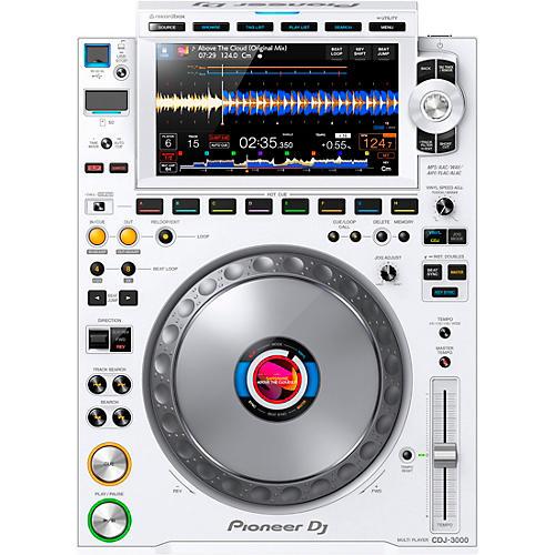 Pioneer CDJ-3000-W White Professional DJ Media Player White