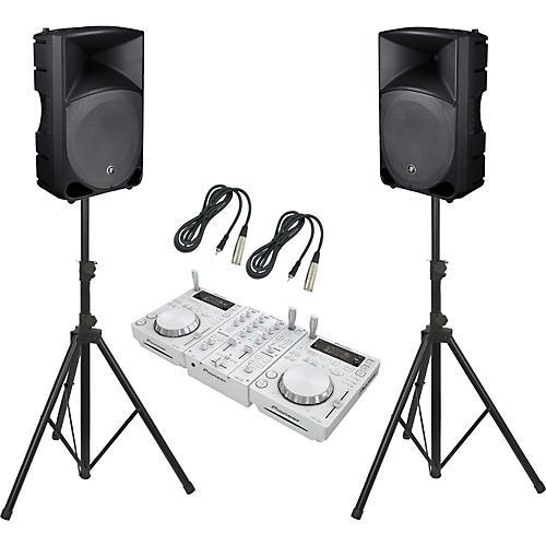 Pioneer CDJ-350 / DJM-350 / TH-15A Thump DJ Package