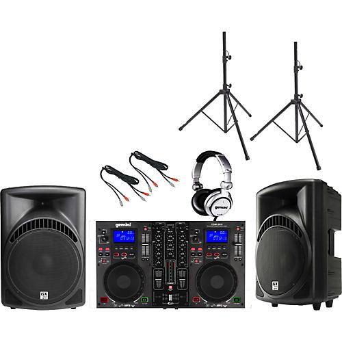 Gemini CDM-3610 / RS-412 DJ Package