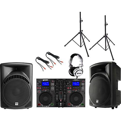 Gemini CDM-3610 / RS-415 DJ Package