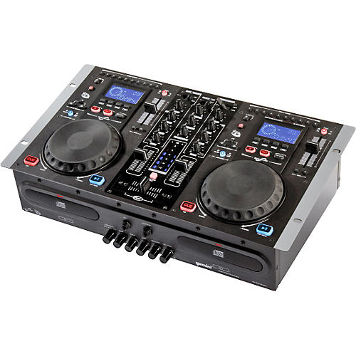 Gemini CDM-3700G Dual CD Karaoke Mixing Console