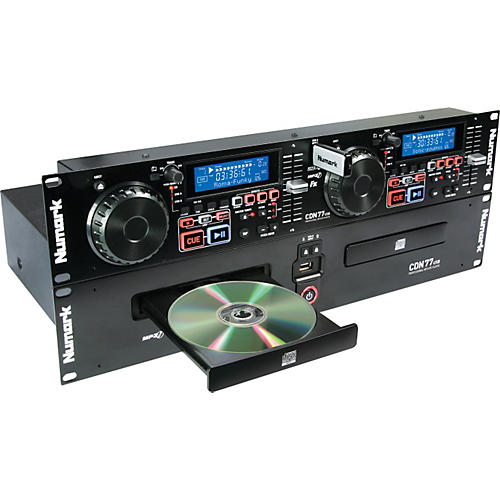 Numark CDN77USB Dual USB and CD/MP3 Player