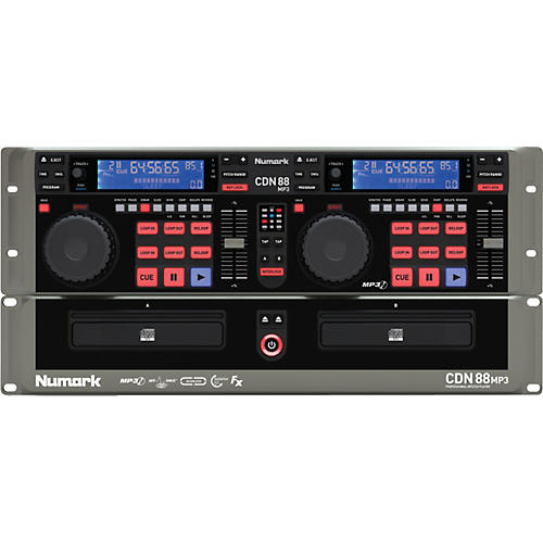 Numark CDN88 MP3 Professional Dual CD/mp3 Player