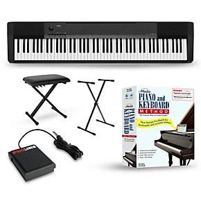 casio cdp 135 digital piano package musician 39 s friend. Black Bedroom Furniture Sets. Home Design Ideas