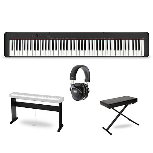 Casio CDP-S150 Keyboard with CS-46 Stand, Bench and Headphones