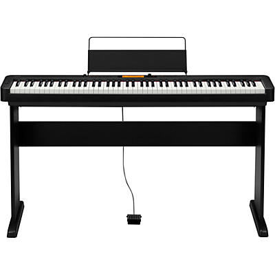 Casio CDP-S350CS Digital Piano with Wooden Stand Black