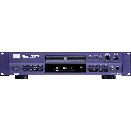 Hhhb: HHB CDR830PLUS Burnit Plus Pro CD Recorder