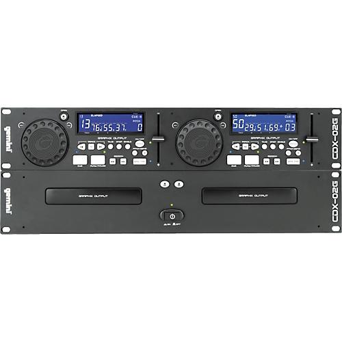 Gemini CDX-02G Professional Dual Deck Karaoke CD Player