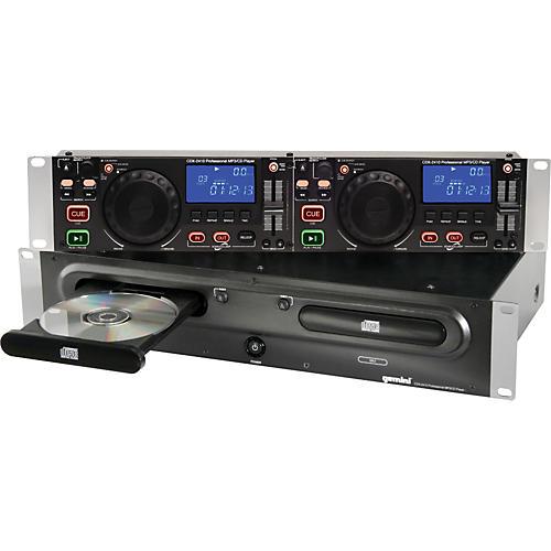 Gemini CDX-2410 2U Rackmount Dual MP3/CD Player