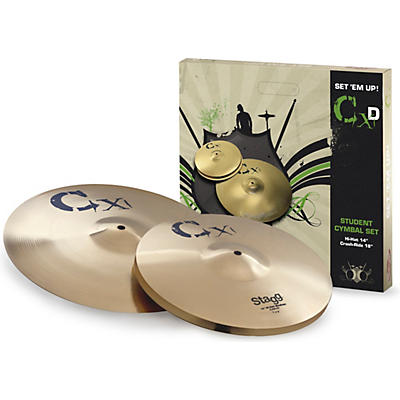 Stagg CDX Cymbal Set