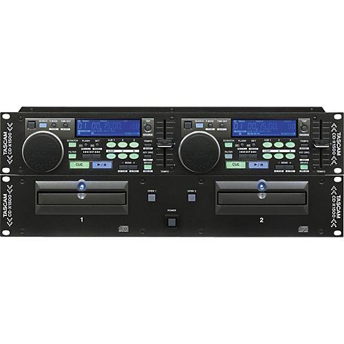 Tascam CDX1500 Dual CD Player