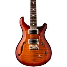 CE 24 Semi-Hollow Electric Guitar Dark Cherry Sunburst