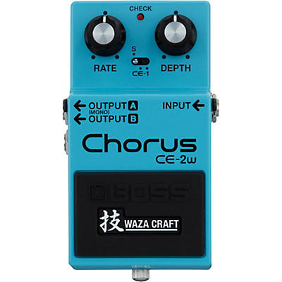 Boss CE-2W Chorus Waza Craft Guitar Effects Pedal