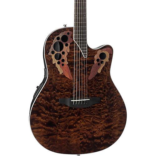 Ovation CE44P-FKOA Celebrity Elite Plus Acoustic-Electric ...