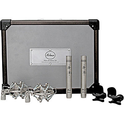 Peluso Microphone Lab CEMC-6 SK Stereo Kit with two Acoustically Matched Solid State Small Diaphragm Microphones