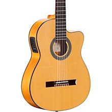 Open Box Alvarez CF6CE CADIZ Series Nylon-String Acoustic-Electric Guitar