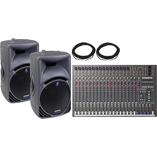 Mackie CFX-20 & SRM450 Pair Package Special