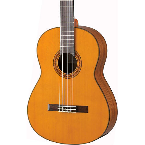 yamaha cg162c cedar top classical guitar natural musician 39 s friend. Black Bedroom Furniture Sets. Home Design Ideas