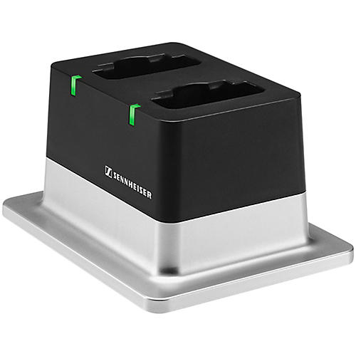 Sennheiser CHG 2 US 2-bay Table Top Charger with US Power Supply
