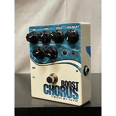 Tech 21 CHRB Boost Chorus Bass Bass Effect Pedal