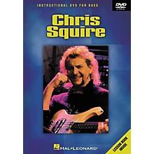 Hal Leonard CHRIS SQUIRE - INSTRUCTIONAL BASS DVD