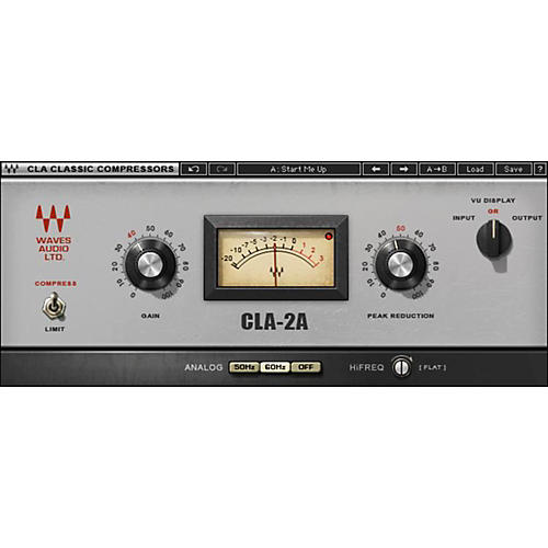 CLA-2A Compressor / Limiter Native/TDM/SG Software Download