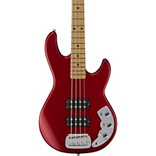 CLF Research L-2000 Maple Fingerboard Electric Bass Candy Apple Red