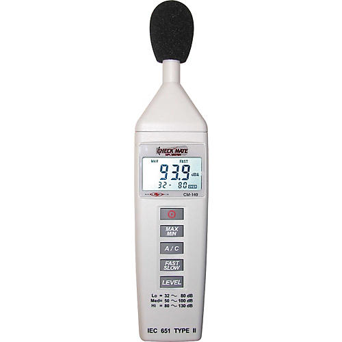 Galaxy Audio CM-140 Check Mate SPL Meter