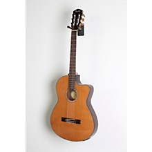 Open BoxFender CN-140SCE with Case Nylon String Acoustic-Electric Guitar