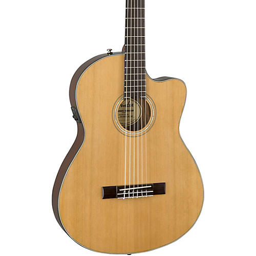 Nylon Electric Guitars : fender cn 140sce with case nylon string acoustic electric guitar natural musician 39 s friend ~ Hamham.info Haus und Dekorationen