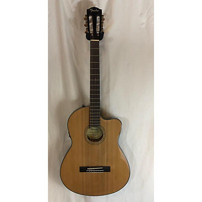Fender CN-140SE NAT WC Classical Acoustic Electric Guitar