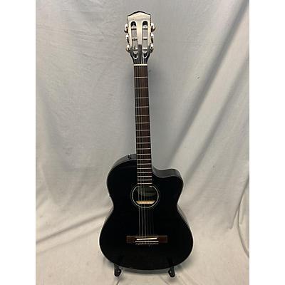 Fender CN120SCE BLK WC Classical Acoustic Electric Guitar