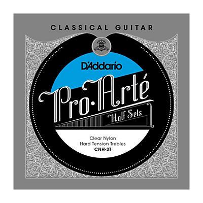 D'Addario CNH-3T Pro-Arte Hard Tension Classical Guitar Strings Half Set