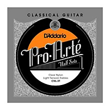 D'Addario CNL-3T Pro-Arte Light Tension Classical Guitar Strings Half Set